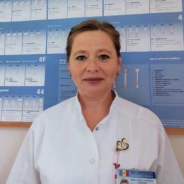 Micaăla GREBENNICOVA - asistenta șefă, categorie superioară