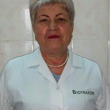 NINA ROȘCA -asistent șef grad superior