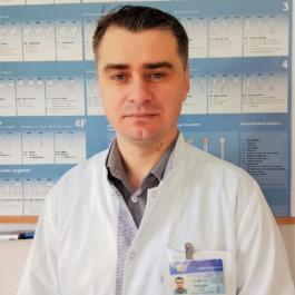 Sergiu URSU - medic ortoped-traumatolog, doctor în științe medicale, asistent universitar categoria superioară