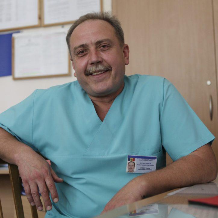 Anisei Vadim - medic chirurg, grad superior.