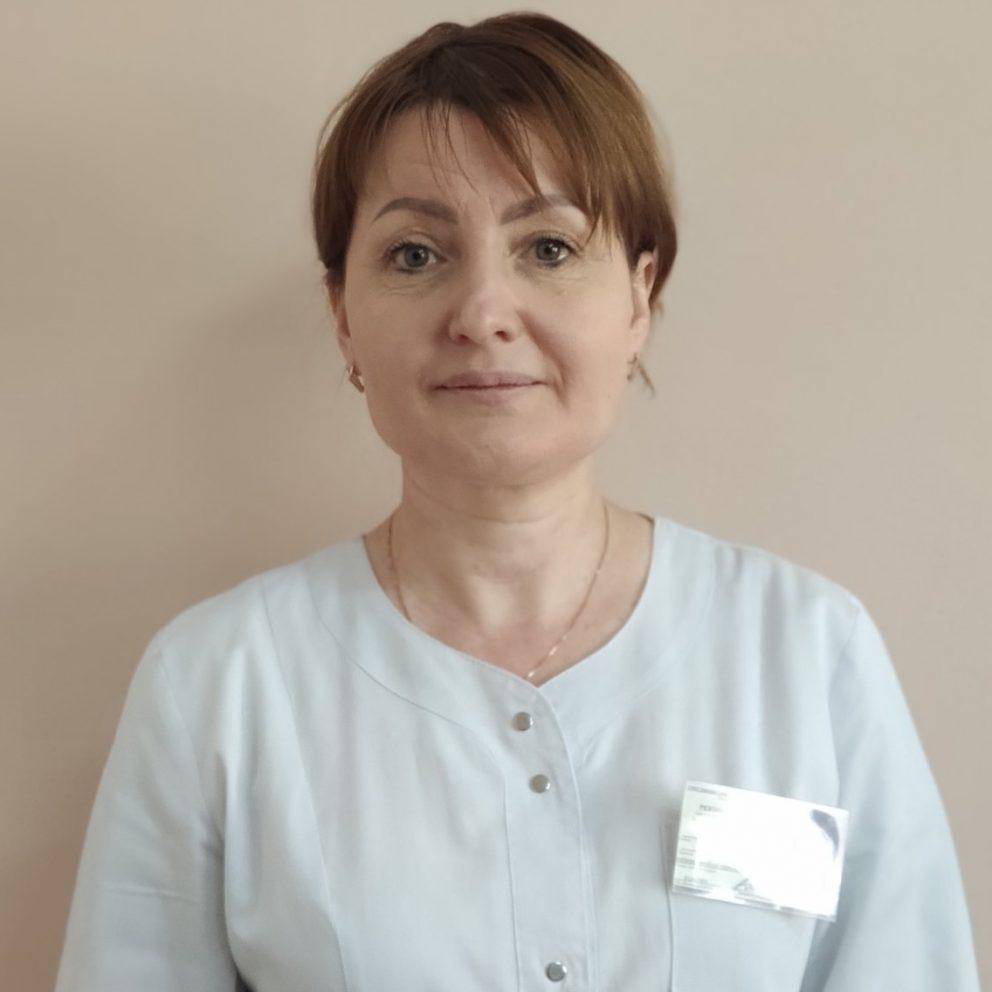 Cenușă Oxana - asistentă șefă, grad superior.