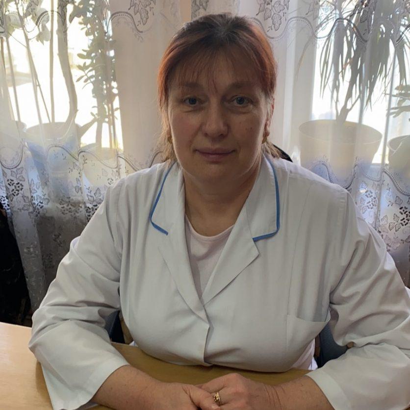 Lilia Motruc - asistentă șefă, grad superior.