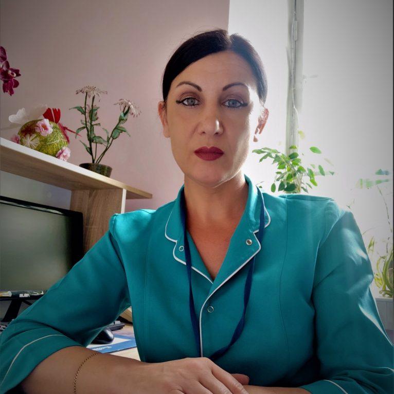 Lungu Elena - asistentă superioară