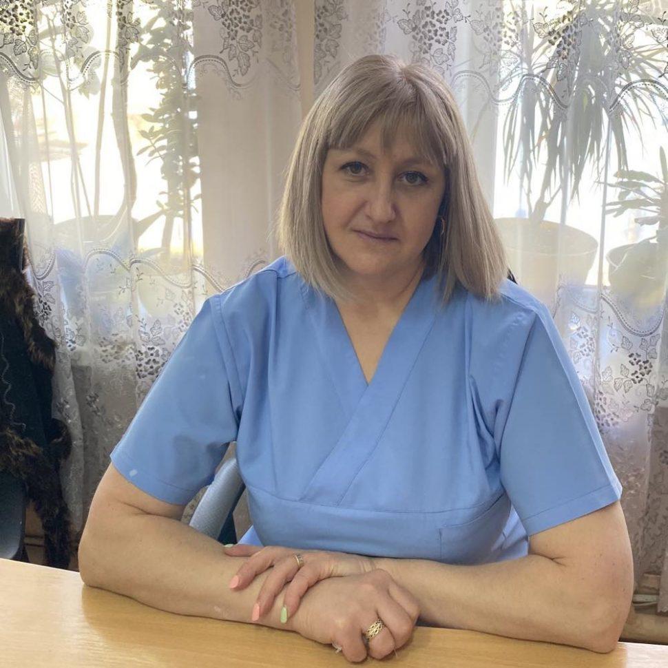 Lupușor Svetlana - asistent de pansamente grad superior