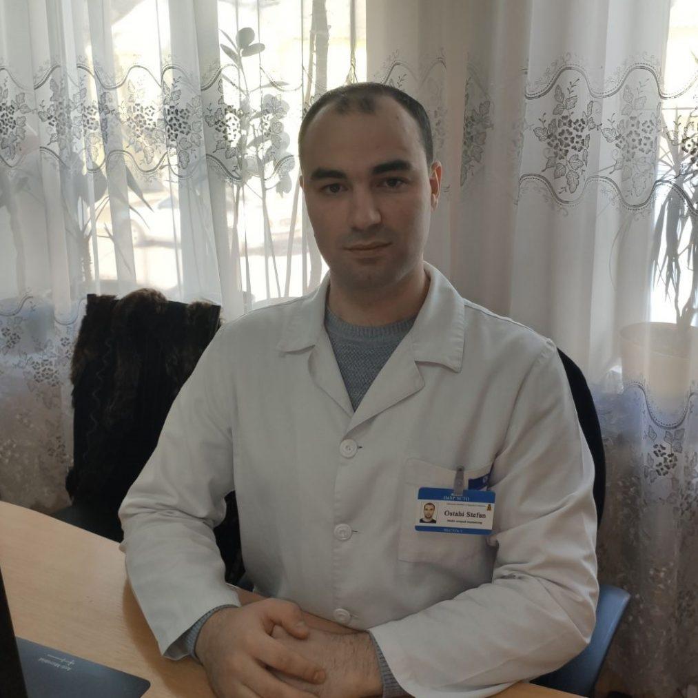 Ostahi Ștefan - medic ortoped traumatolog.