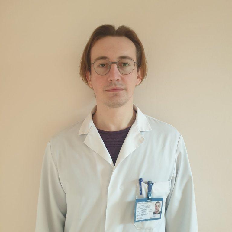 Sadovschii Roman, medic rezident Catedra ortopedie și traumatologie, anul V.