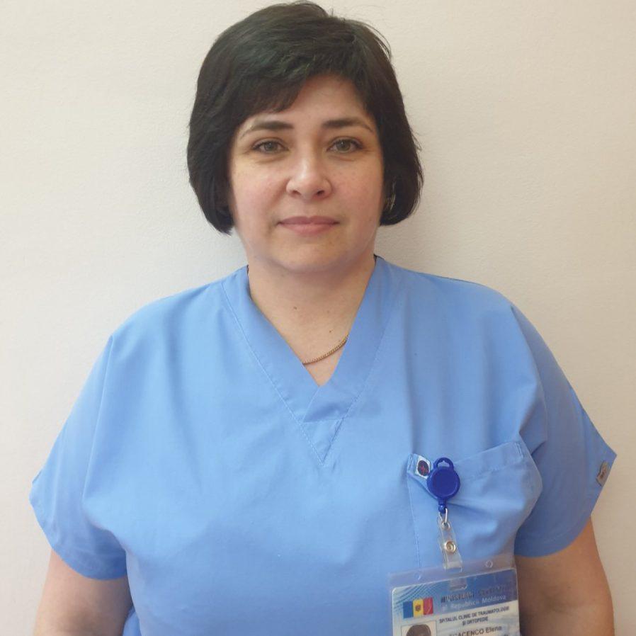 Tcacenco Elena, asistentă șef, grad superior.